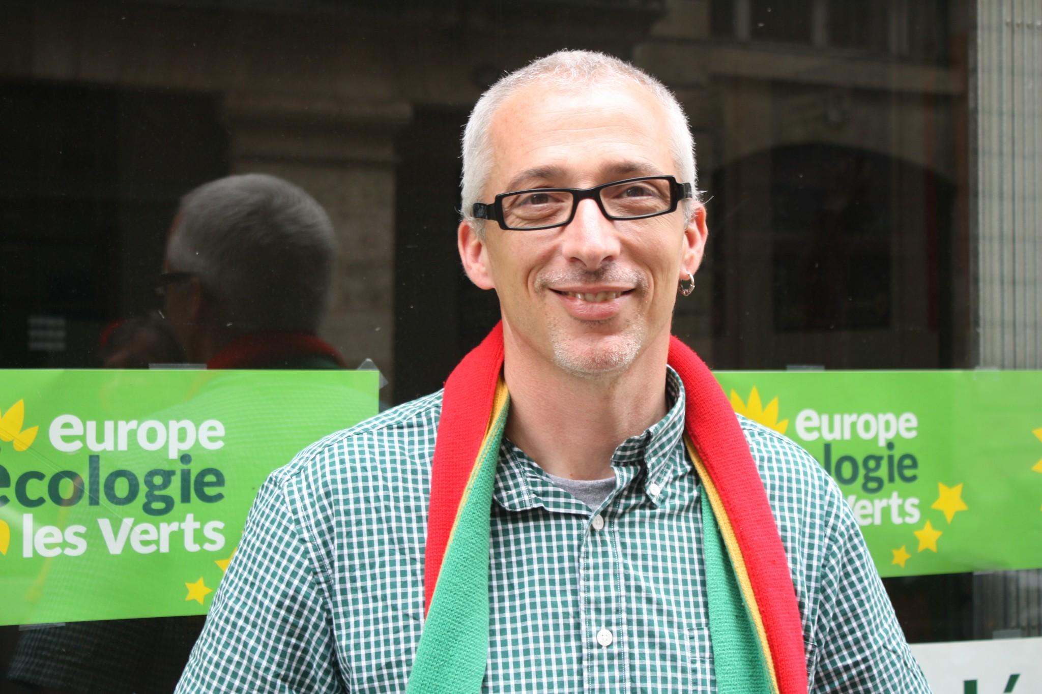 Stéphane Saubusse, Secrétaire Régional EELV Aquitaine